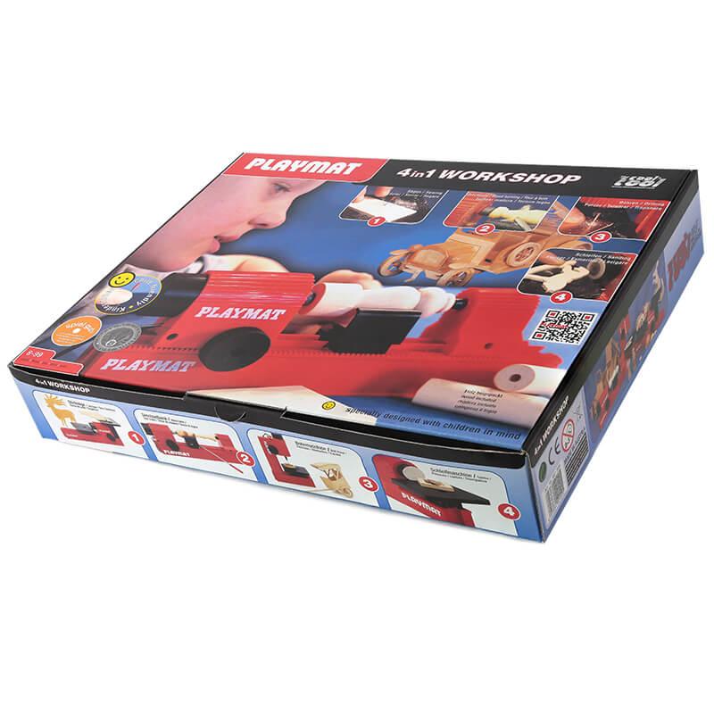 a caixa da PLAYMAT