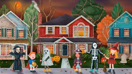 PLAYMAT Halloween
